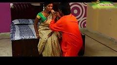 インドのホットな主婦と偽女swamiji