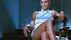 Sharon Stone crossing legs (Loop)