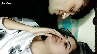 Indian couple have blindfolded sex in Hindi, insta id = genuinejannat