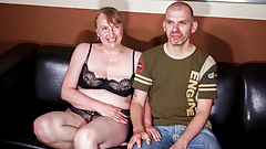 AMATEUR EURO - Horny German Couple Film Ther First Sex Tape