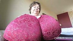 ridiculous tits of Karola