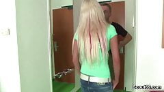 not daddy Seduce Young German Teen with Big Tits to Fuck