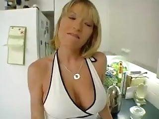 Free wife porno Big tits blonde milf in 1st porno scene