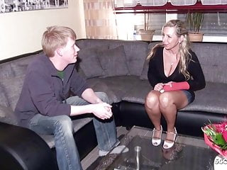 Cock fucking milf monster - German mom fuck monster cock young friend of daugther