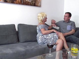 Mother seduces son softcore Mature mother seduce lucky young son
