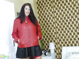 Mature amatuer videos free - Oldnanny curvy mature lady lulu enjoying free time