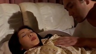 Reiko Hanasaki has nooky rubbed with thong and nailed big ti