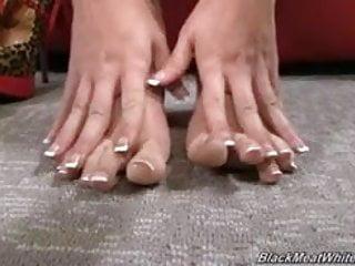 Machine sex eva angelina Eva angelina rubbing bbc with her little feet