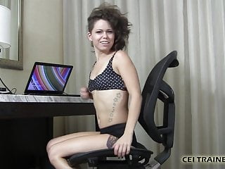 Lexi makes you eat your cum - I will make you eat your cum whether you want to or not cei