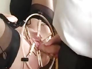 Vintage singer hand held vacuum - Housewifes held open pussy