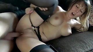 German films his fucking girlfriend in black stockings
