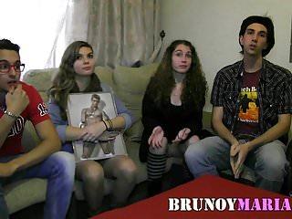Jovens gordas porno Tres parejitas jovenes de brunoymaria se montan esta orgia