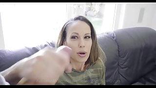 step mom helps stepson cum