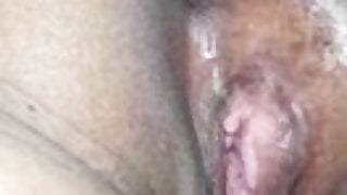 husband plays with his wife pussy