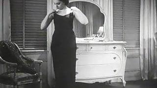 Man Peeping on to Undressing Women (1930s Vintage)