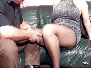 Hardcore german ppv - Hairy german milf in nylon get hard fuck and cum on