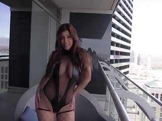 Latino masturbation on balcony Masturbation on balcony