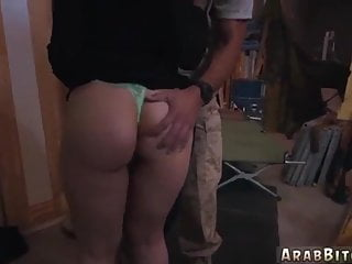 Creampie in ass videos - Arabian girl playing with anal dilator anal creampie in mou