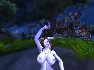 Erotic warcraft gallery Warcraft sexy dranei dance