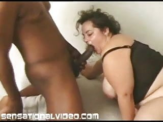 Big tit wife black - Big tit amateur wife fucks first black cock while hubby film