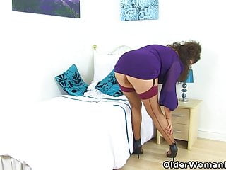 Mature mom vs. exploited British milf gilly exploits her wonderful lady bits
