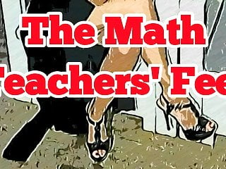 Teacher fuck cartoon Cartoon version. the math teachers feet