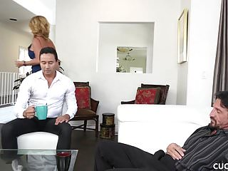 Husband seducing wife xxx - Janna hicks seduces her husbands friend while he watches