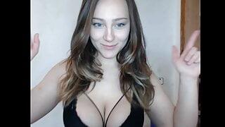 Russian Katya shows her juicy body on camera
