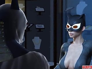 Batman naked and hunted by catwoman Big dick batman fucks hot ass catwoman