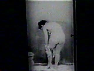 Sexy male portrait - Keyhole portraits - vintage