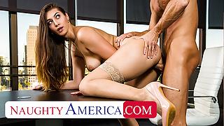 Naughty America - Rich brat Bella Rolland is ready to fuck