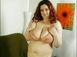 Sticking young pussy - Fat chubby playing with hairy pussy and big tits with stick