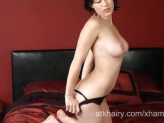 Ellie young and hairy Young and hairy girl olive opens up her hairy pussy