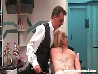 Of blonde pussy I am pierced blonde pussy piercings slave candle torture