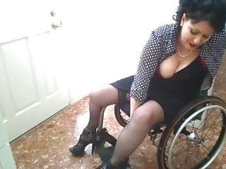 Wheelchair naked Paraplegic in wheelchair sexy porn