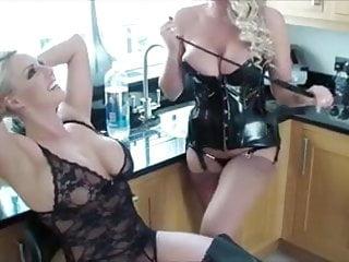 Milf danielle Lucy and danielle humiliate a slave