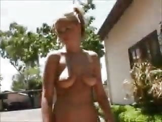 Alison krause naked - Alison naked outside almost caught