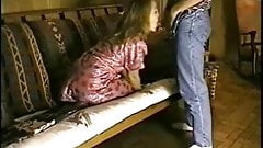 Hot couple fucking on the couch