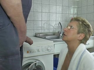 Man pissing in the kitchen soup Angie german housewife pissing in kitchen