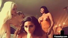 Tight Tart Jenna Foxx Pussy Fucks Naomi Woods & Alex Grey!