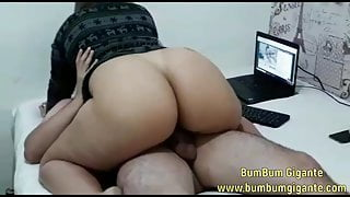 Hot Double Penetration with 2 gogoboys