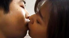 Yuko Tachibana has cum pouring from mouth after sucking bone