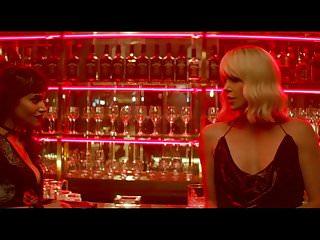 Bikini atoll atomic bomb test Charlize theron atomic blonde sex scene