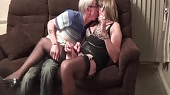 British Prostitute with 80 year Old Client