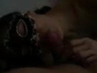 Facial mask chinese multi function peeler Asian chinese gf masked blowjob