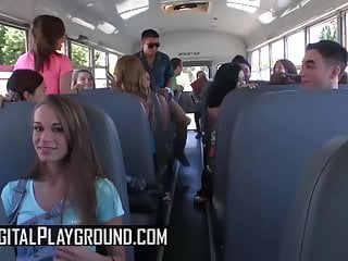 Digit dick - Kaci lynn keiran lee - steering the bus driver - digital