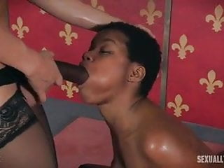 Breaking in a virgin Breaking in a slave