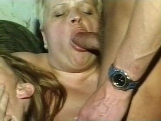 Vintage german horny family fucking all over the homes film