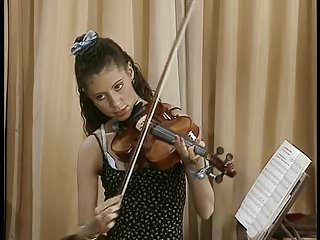 Vintage violin pics - He plays her pussy like a violin