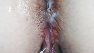 Milf had truly orgasm after creampie